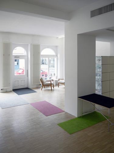 Ingo-Gerken-Erdgeschoss-Teppich